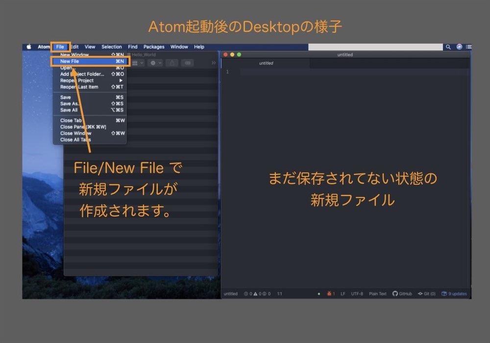 2. プログラムファイルの作成
